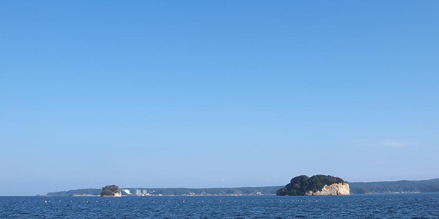 能登島の小さな島々